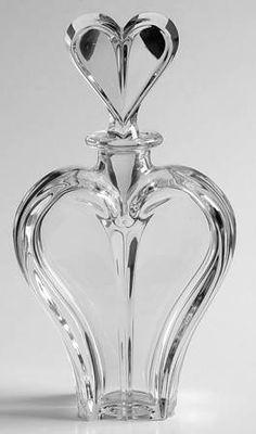 Lenox Wedding Promises (Heart Stem) Heart Perfume Bottle and Stopper