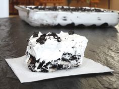 oreo icebox cake