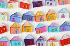 Shrink plastic houses