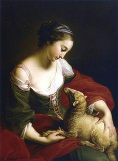Pompeo Batoni, Tameness, 1752.