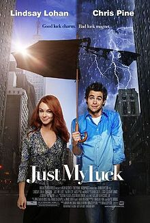 Just My Luck I love Chris Pine in this movie! And McFly! Movie List, Movie Tv, Romantic Comedy Movies, Romance Movies, Movies Showing, Movies And Tv Shows, Girly Movies, Just My Luck, Chick Flicks