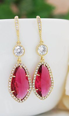 How about these #gorgeous #earrings for your #bridesmaids?