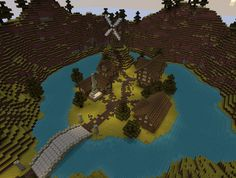 Medieval Series ~Fantasy Village Minecraft Project