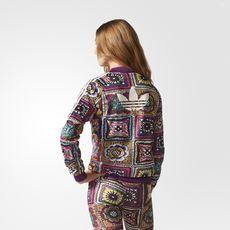 adidas - Jaqueta Crochita Supergirl Farm