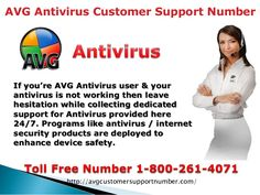AVG ANTIVIRUS TECHNICAL SUPPORT NUMBER 1-800-261-4071 PROVIDES INSTANT SOLUTION FOR SECUTITY OF YOUR COMPUTER OR LAPTOP OR MOBILE, SOFTWARE APPLICATIONS, VIRUS AND MALWARE, FIREWALL, INTERNET CONNECTIVITY, AND OTHER ISSUES FOR ALL CALL US OUR TOLL FREE NUMBER AND ALSO VISIT ON OUR WEBSITE. Our toll free number -1-800-261-4071 Website: http://avgcustomersupportnumber.com/