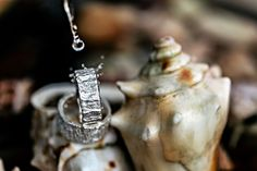 silver wedding rings | Hochzeitsblog marryMAG| Der… Ring Verlobung, Christmas Ornaments, Holiday Decor, Beautiful Wedding Rings, Newlyweds, Engagement Ring, Christmas Jewelry, Christmas Decorations, Christmas Decor
