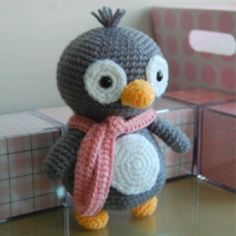 Made this little guy for my sister. So cute!