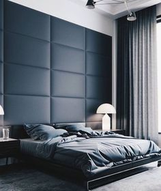 Fajna tapicerowana ściana