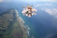 Skydive in Hawaii