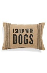 Primitives by Kathy 'I Sleep With Dogs' Pillow