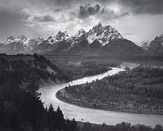 Ansel Adams: The Tetons and the Snake River, Grand Teton National Park, Wyoming, 1942