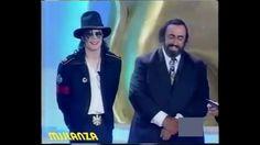 Michael Jackson & Luciano Pavarotti en 1997 - Subtitulado en Español Michael Jackson, 1990 Music, Placido Domingo, Outlaw Country, Interview, My Mood, Kinds Of Music, I Smile, Youtube