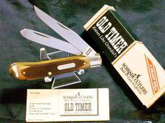 Schrade 94OT Knife Old Timer Trapper USA Made W/Original Packaging & Paperwork @ ditwtexas.webstoreplace.com