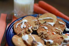 #Carrot cake #pancakes are perfect for spring brunch!