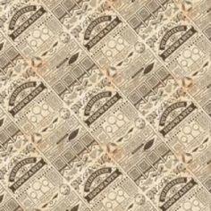 Newspaper Quidditch Cotton Fabric