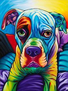 Buy Diamond Painting Full Diamond Embroidery Colorful Animal Dog Diamond Cross Stitch,mosaic Diamond,room Decoration Gx at Wish - Shopping Made Fun Dog Pop Art, Dog Art, Animal Paintings, Animal Drawings, Colorful Animals, Arte Pop, Chalk Pastels, Pet Portraits, Cute Dogs