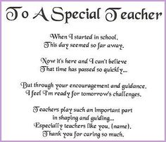 Thank You Teacher Quotes From Students | Thank You Quotes For Teachers From Students