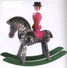 paard en ruiter, Kay Bojesen