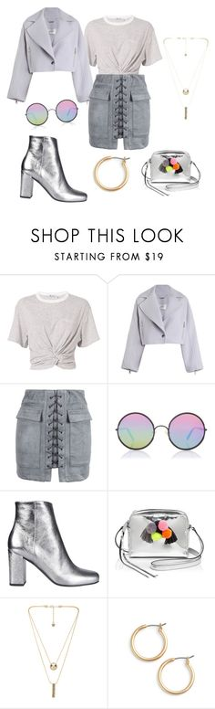"""""""monotoned"""" by shannongarner ❤ liked on Polyvore featuring T By Alexander Wang, Zimmermann, WithChic, Sunday Somewhere, Yves Saint Laurent, Rebecca Minkoff, House of Harlow 1960 and Nordstrom"""