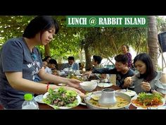 Boat Ride and Lunch at Rabbit Island in Kep Province