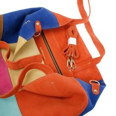 Lucie Multicolor Longchamp, Tote Bag, Bags, Fashion, Accessories, Purses, Moda, Fashion Styles, Tote Bags