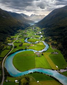 Stryn, Norway (aka the Great Valley in the Land Before Time) Wonderful Places, Beautiful Places, Places To Travel, Travel Destinations, Oh The Places You'll Go, Places To Visit, Nature Photography, Travel Photography, Photography Training