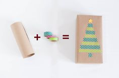 simple & stylish gift wrapping ideas | Two Live Colorfully