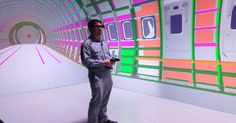 Wichita State University's VR tunnel lets designers create giant mock-ups of their ideas -- and walk people through them.