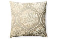Anna 20x20 Pillow, Cream on OneKingsLane.com