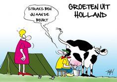 Groeten uit Holland (© Toon van Driel)