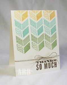 Thanks So Much Card | 25+ Handmade Cards