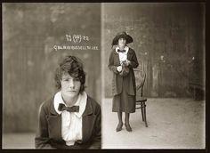 Sydney police mugshots - 1920s