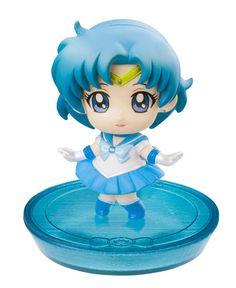 Sailor Moon Petit Chara Land Pretty Soldier - Sailor Mercure Variante A  Sailor Moon - Hadesflamme - Merchandise - Onlineshop für alles was das (Fan) Herz begehrt!