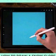Digital Painting Tutorials, Digital Art Tutorial, Digital Art Beginner, Graphic Design Lessons, Ipad Art, Cool Art Drawings, Illustrator Tutorials, Custom Logo Design, Digital Illustration