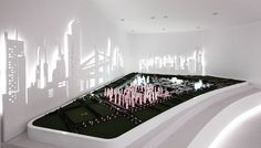 HUAXIA NANCHANG PLANNING CENTER Exhibition Models, Exhibition Display, Exhibition Space, Scale Model Architecture, Interactive Architecture, Kowloon Walled City, Planning Center, Pavilion Design, Office Space Design