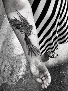 Take A Look At These Wild Sketch Tattoos | Playbuzz