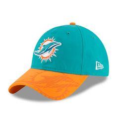 Miami Dolphins New Era Women s 2016 Sideline LS 9TWENTY Adjustable Hat -  Aqua d914fbdcdd9