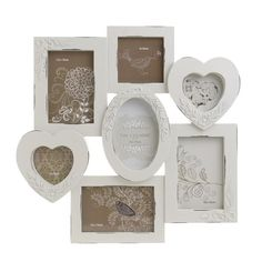 Photo Frame With 7 Sections - Frames Poliresin - FRAMES-ALBUMS - inart