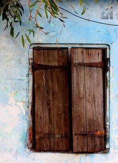 Ancient wooden windows(shutters),Chennai(Madras),tamilnadu, India