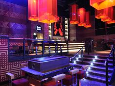 Bobby Segurola  Just one of the beautiful rooms at the UK's 50,000 square foot Mega-Nightclub, Gatecrasher. The designers behind this club are pushing out some incredible design in the hospitality industry.  Night club design by Big Time Design Studios of Miami.