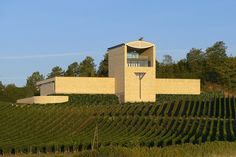 View the full picture gallery of Cantina Château Faugères Mario, Sidewalk, World, Gallery, Nature, Pictures, Wineries, Natural Stones, Architecture
