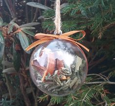Herb Witch Ball   Pagan Bauble   Wiccan Altar   Dutch Lavender   Dried  Oranges   Cinnamon Sticks   Spearmint   Protection Charm   Amulet