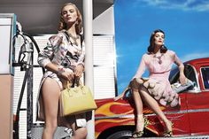 Prada, S/S 2012 Campaign by Steven Meisel