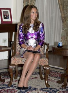 Style Kate Middleton, Kate Middleton Pictures, Middleton Family, Duchess Kate, Duke And Duchess, Duchess Of Cambridge, Brown Tights, Nude Tights, Carla Bruni