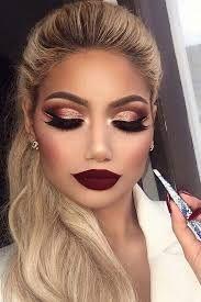 Glamorous makeup!