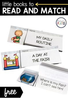 These little books are a fun and different way to practice fluency with children. To boot, they also work on comprehension! #littlereaders Kindergarten Reading, Little Books, Reading Comprehension, Books To Read, Novels, Children, Fun, Young Children, Boys