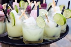 popsicle refreshments perfect for a summer party or bbq