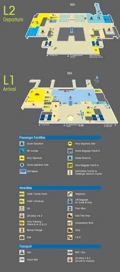 Terminal Map | Singapore Cruise Centre