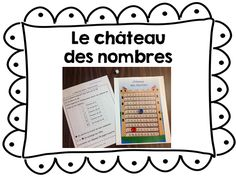 Atelier de mathématiques au 1er cycle du primaire Commission Scolaire, 1st Grade Math, Grade 2, Cycle 1, Core French, Math Workshop, Elementary Math, Math Centers, Classroom