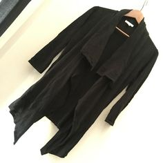 New York & co drape cardi Wear two ways, loose or button at top and inside as shown in pic 2. Brand new never worn. New York & Company Sweaters Cardigans